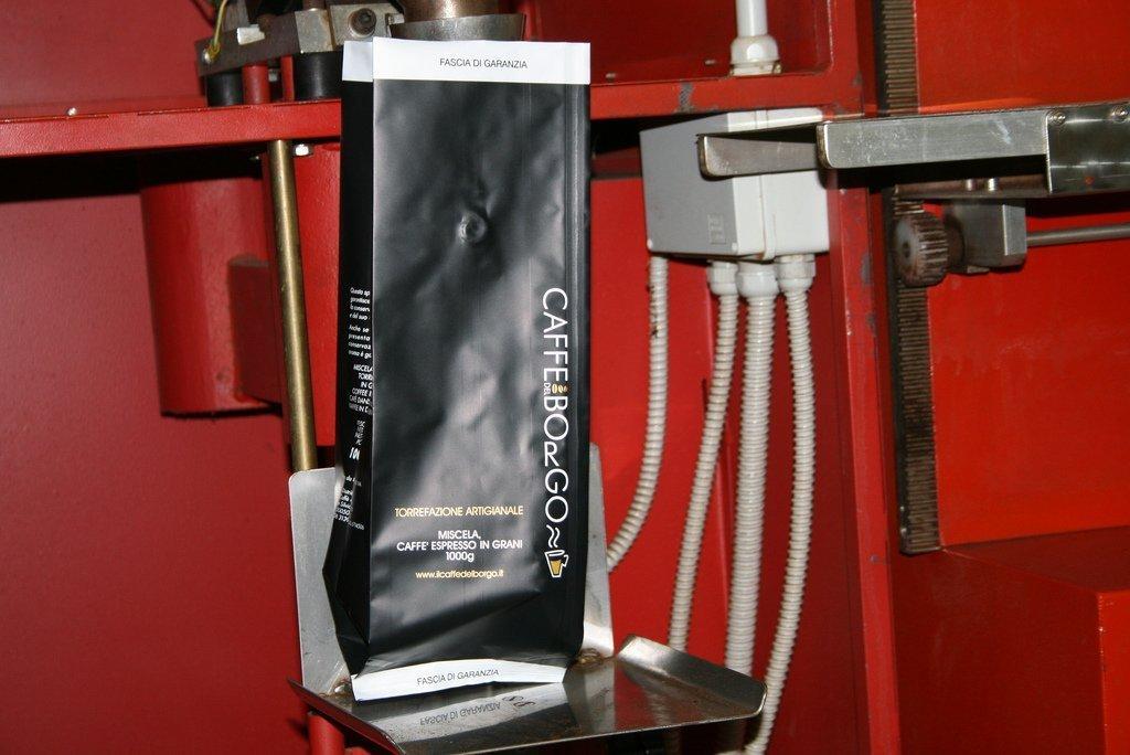 Imbustatura caffè